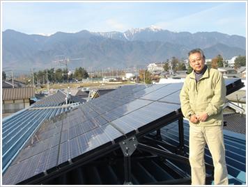 安曇電工 太陽光発電施工事業